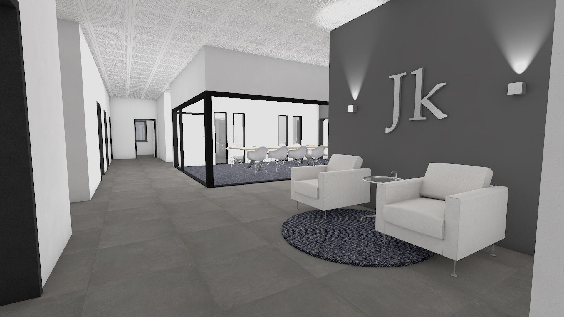 Neuenkirchen - Erweiterung Büroetage - Quelle: Joseph Krüselmann Bau
