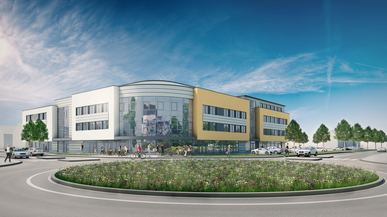 Neubau eines Ärztezentrums GLZ - Quelle: Sanupark GmbH